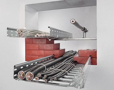 Technický prestup kabeláže s izoláciou